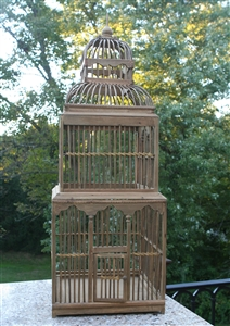 Tower Decorative Birdcage Wedding Table Accessory Tall