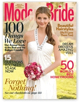 Featured in Modern Bride Magazine