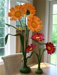 Paper Daisy Flower Centerpiece