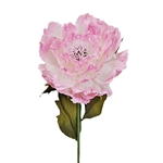 Oversized Giant Paper Peony Flower X-Large Pink