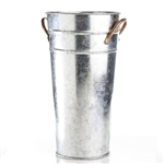 Mini French Metal Flower Bucket