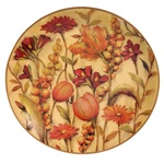 Meadow Floral Decorative Plate