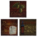 Tuscan Culinary Kitchen Plaques