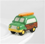 Nora Fleming Woody Surf Van Mini - Surfs Up