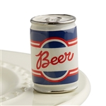 Nora Fleming Beer Can Mini - Beer Me - Serving Platter Ornament