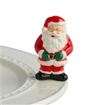 Nora Fleming Father Christmas Santa Mini