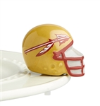 Nora Fleming Florida State Helmet Mini - Seminoles Football Gift