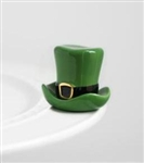 Nora Fleming St Patty's Hat Mini - Spot o Irish