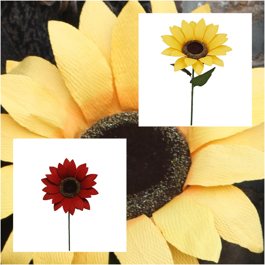 Large Paper Sunflower Decorations - Buy Giant Flowers in stock ...