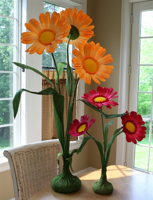Paper flower centerpieces oversized daisy party decorations larger photo email a friend mightylinksfo