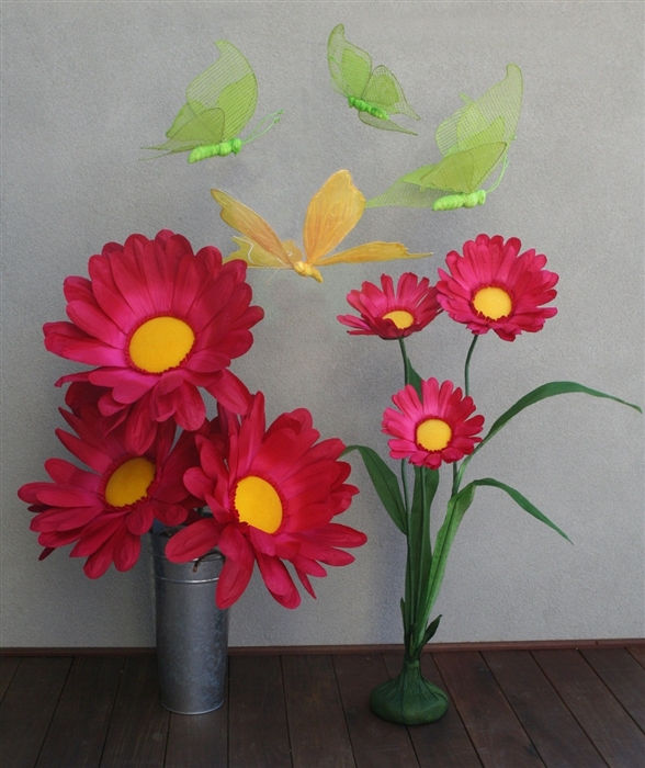 Paper flower centerpieces oversized daisy party decorations price mightylinksfo