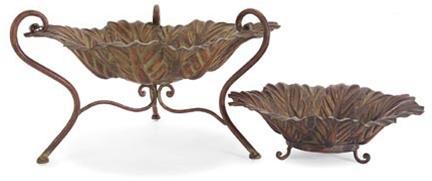 metal leaf decorative bowls - Decorative Bowl