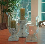 Playa Large Hurricane Candleholders